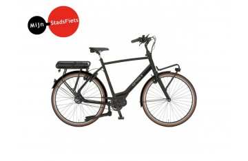 Cortina E-Common Dark Grey Belt herenfiets