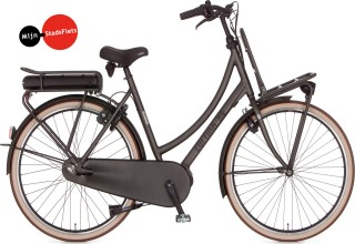 Cortina E-U4 Transport damesfiets MM420 Black Gold